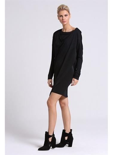 Dokumlu Kısa Elbise-Love'n Fashion Paris